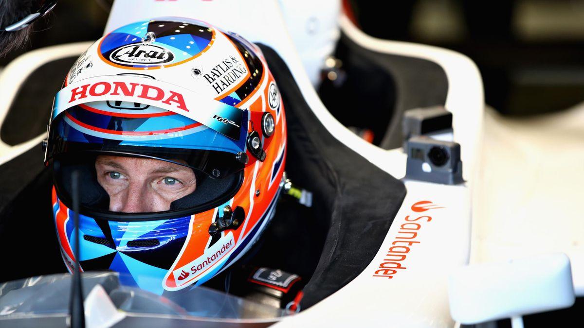 Jenson Button, le 8 juillet 2018