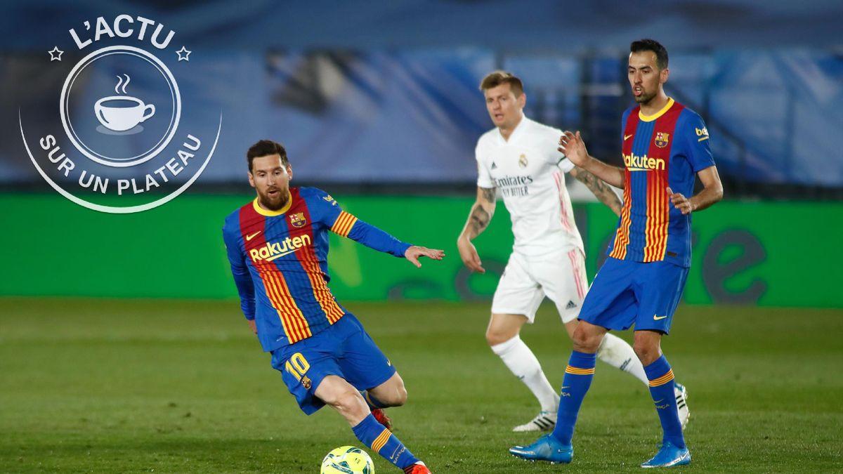 Lionel Messi est en Une de notre plateau