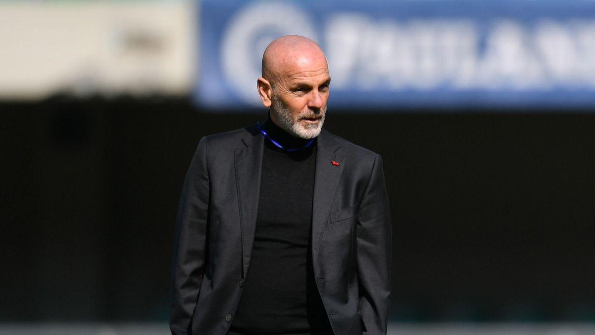 Stefano Pioli (Verona vs Milan)