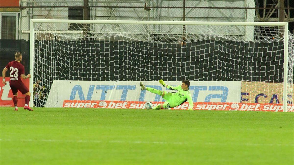 La 4-4, la loteria penaltyurilor, Golofca putea să aducă, dacă marca, o calificare importantă pentru CFR în duelul cu Dinamo Zagreb