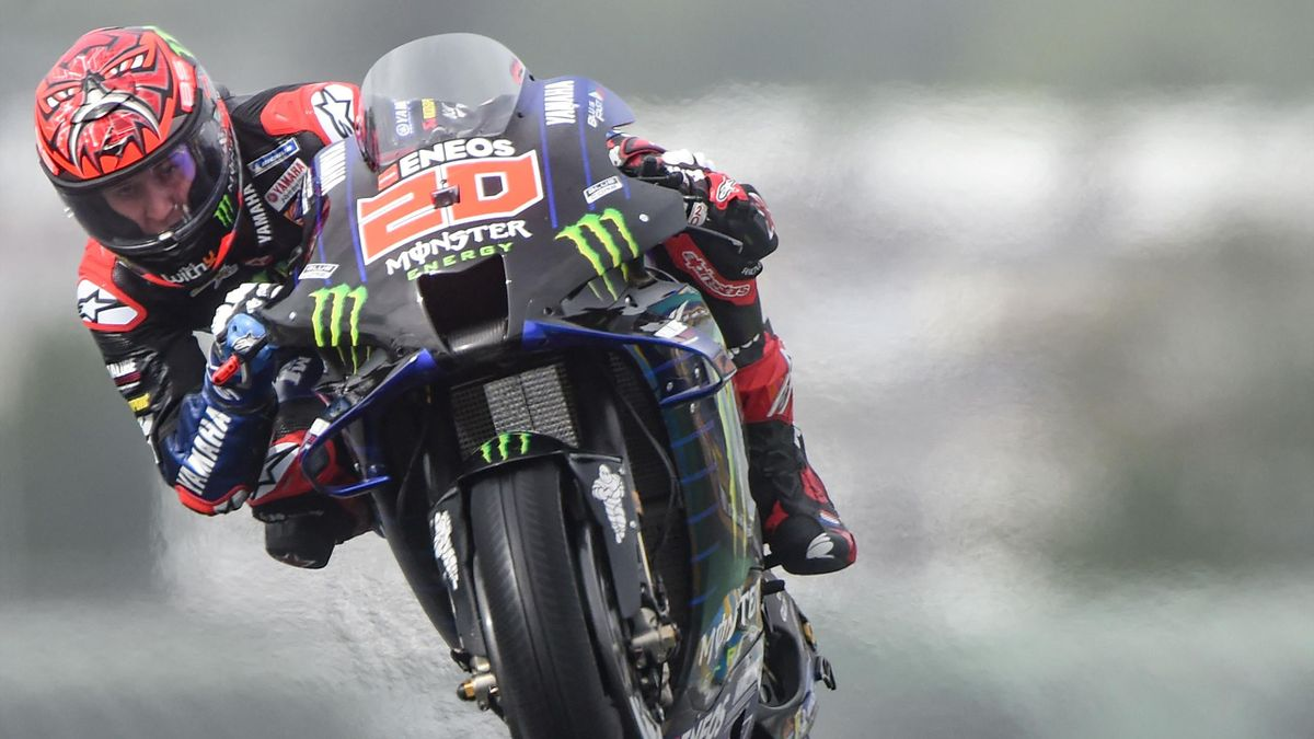 Fabio Quartararo aux essais du Mans 2021