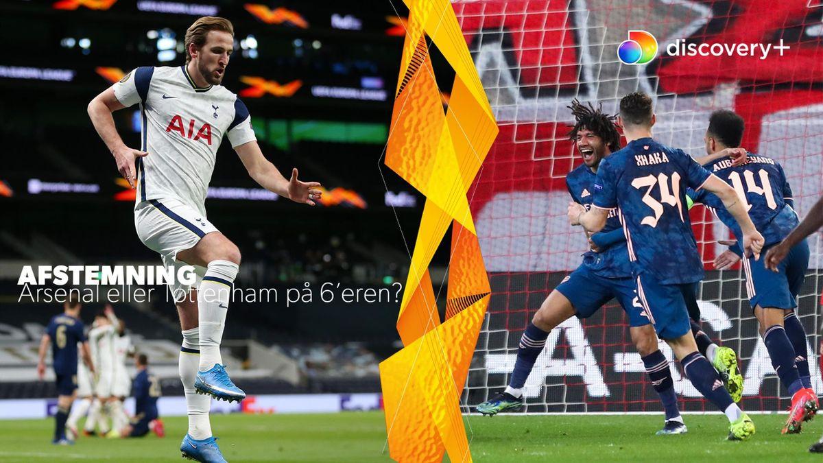 Tottenham hentede en 2-0-sejr hjemme over Dinamo Zagreb mens Arsenal vandt 3-1 i Grækenland.