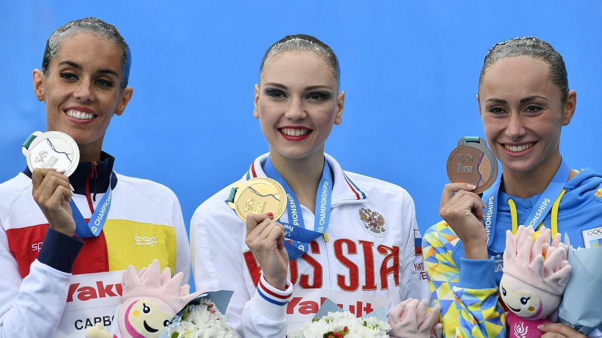 Ona Carbonell, plata en solo técnico en el Mundial de Budapest