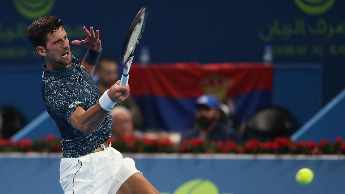 Novak Djokovic, ATP Doha 2019