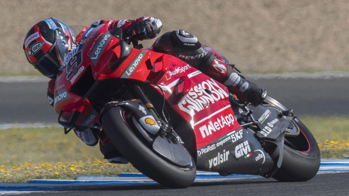 Danilo Petrucci nel GP di Spagna 2019