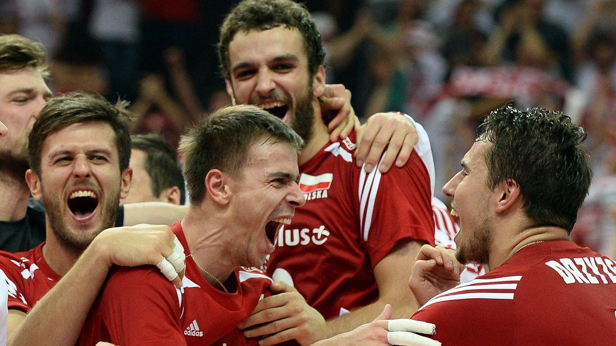 Les Polonais en finale de leur Mondial.