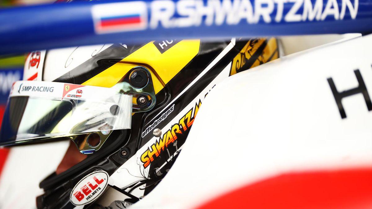 Robert Shwartzman (Prema) à Spa-Francorchamps le 28 août 2020