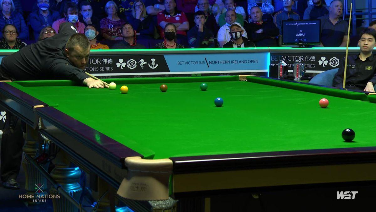 Northern Ireland Open   Allen vermaakt publiek door met 147-score af te sluiten