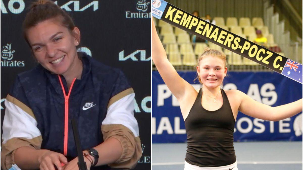 Simona Halep & Charlotte Kempenaers Pocz
