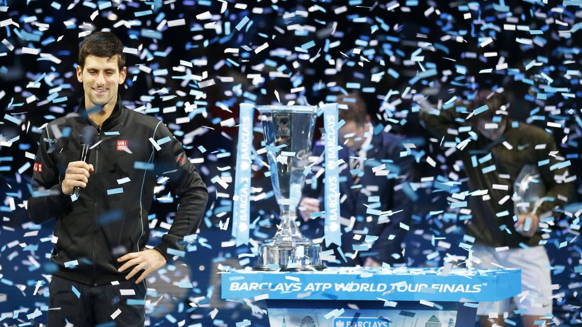 Novak Djokovic , double tenant du titre au Masters.