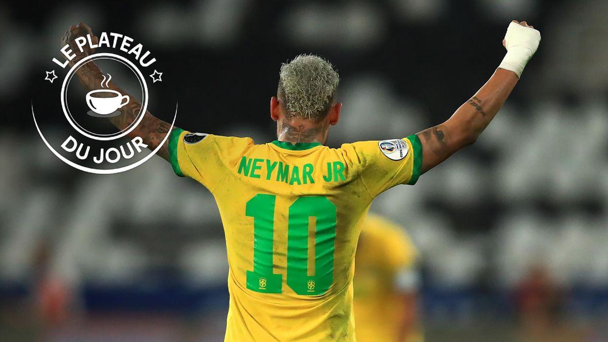Neymar à la Une du plateau du 6 juillet