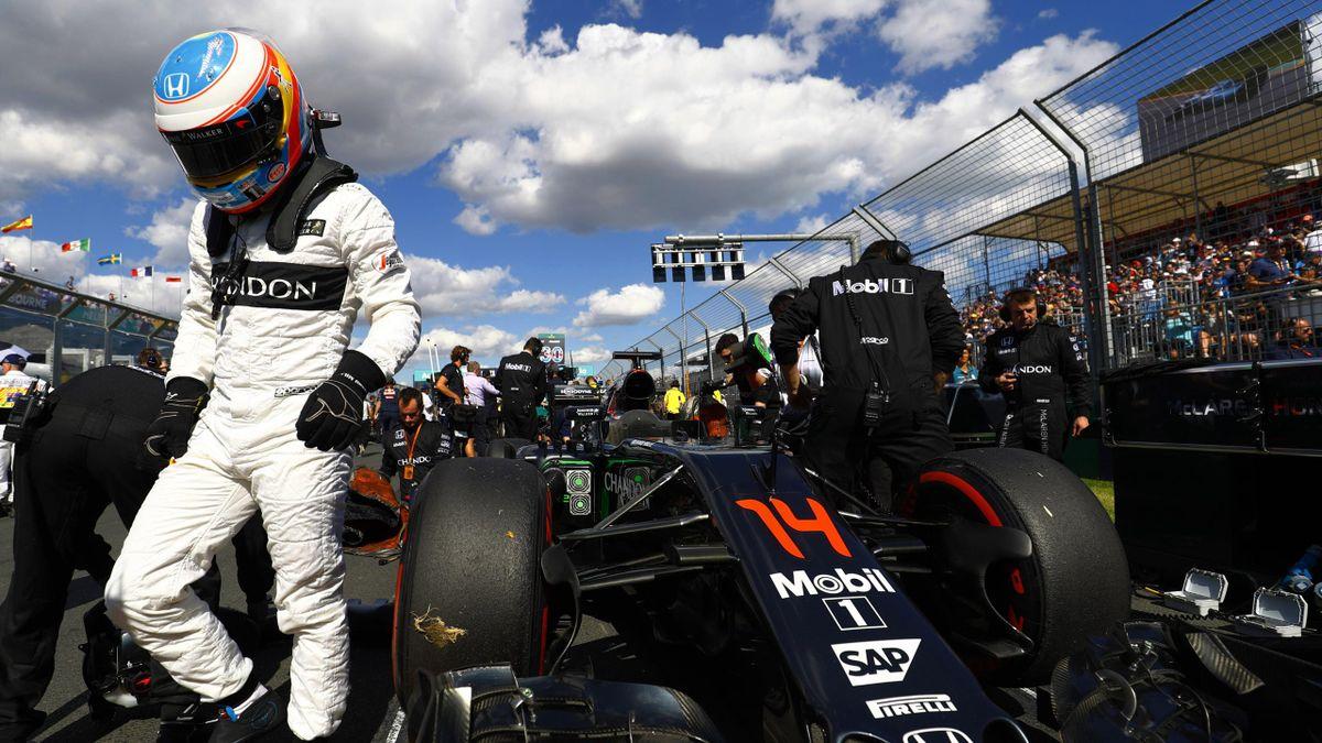 Fernando Alonso (McLaren) - GP of Australia 2016