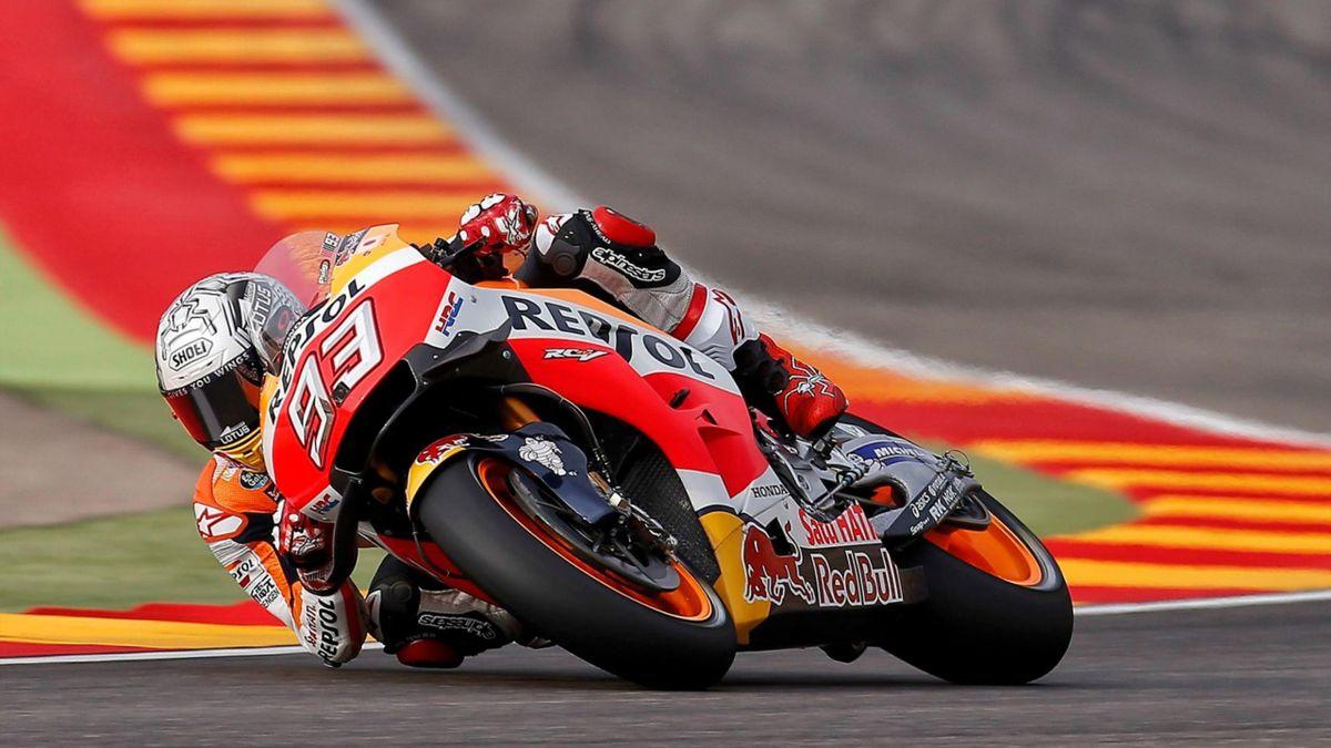 Marc Marquez (Honda HRC) - GP of Aragon 2016