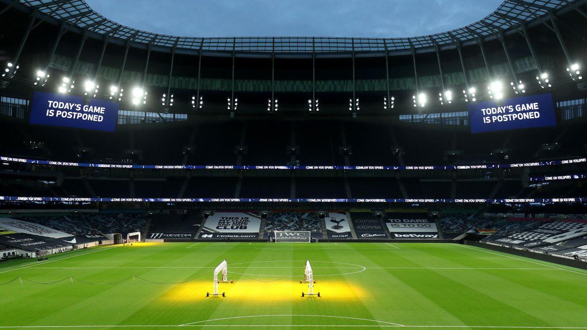 Tottenham's game with Fulham was originally postponed on 30 December