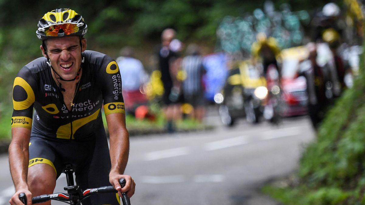 Lilian Calmejane during stage 8 of the 2017 Tour de France