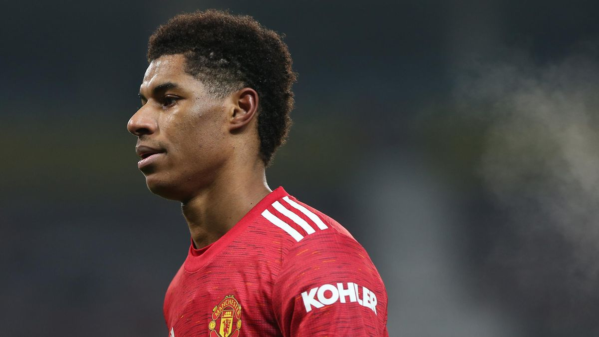 Marcus Rashford is one of a number of footballers who've been racially abused online recently