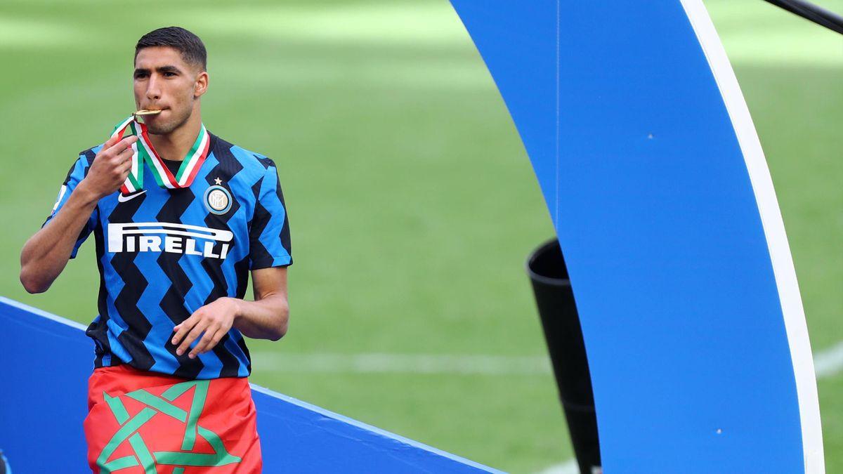 Achraf Hakimi könnte Inter Mailand im Sommer schon wieder verlassen