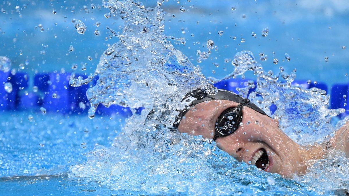 Isabel Gose schwimmt neuen deutschen Rekord.