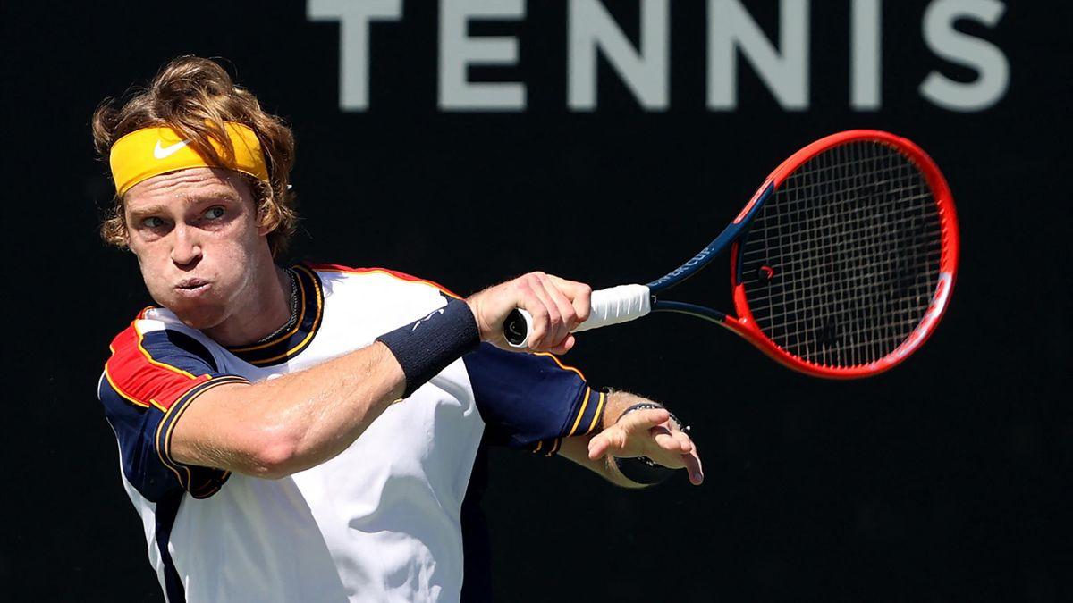 Andrey Rublev Diego Schwartzman ellen - San Diego Open - Sean M. Haffey/Getty Images/AFP
