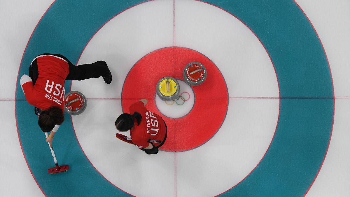 American curling team