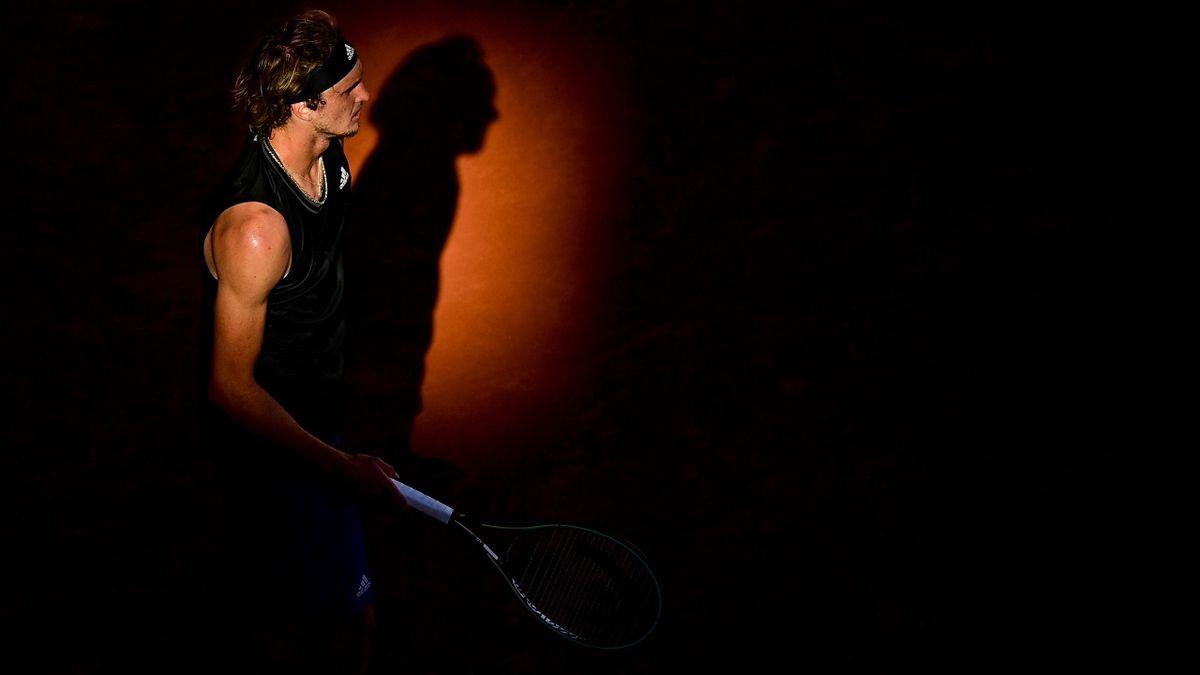 Alexander Zverev bei den French Open