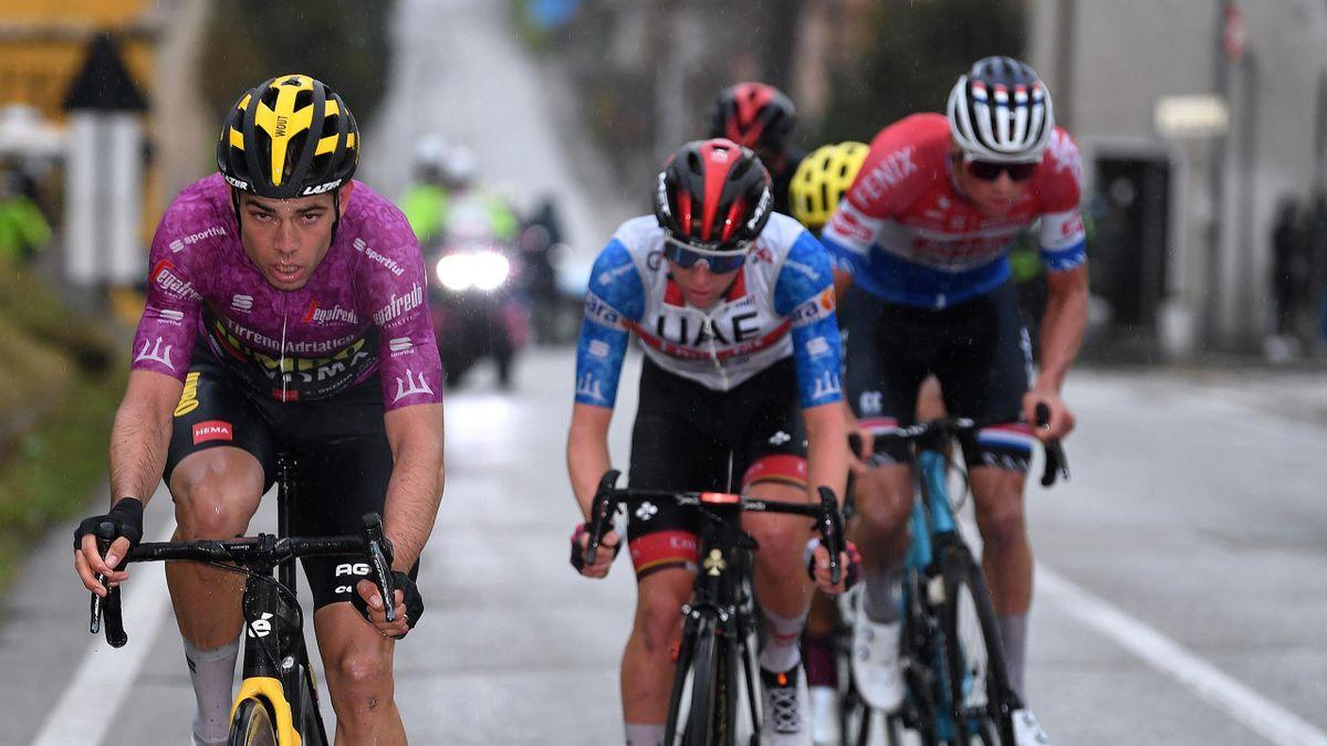 Regenschlacht der Superstars: Die Highlights der 5. Tirreno-Etappe