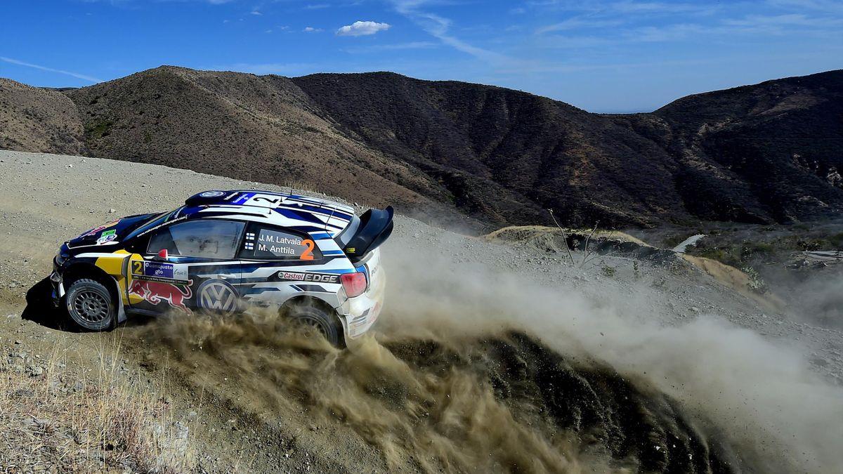 Jari-Matti Latvala (Volkswagen) - Rally of Mexico 2016