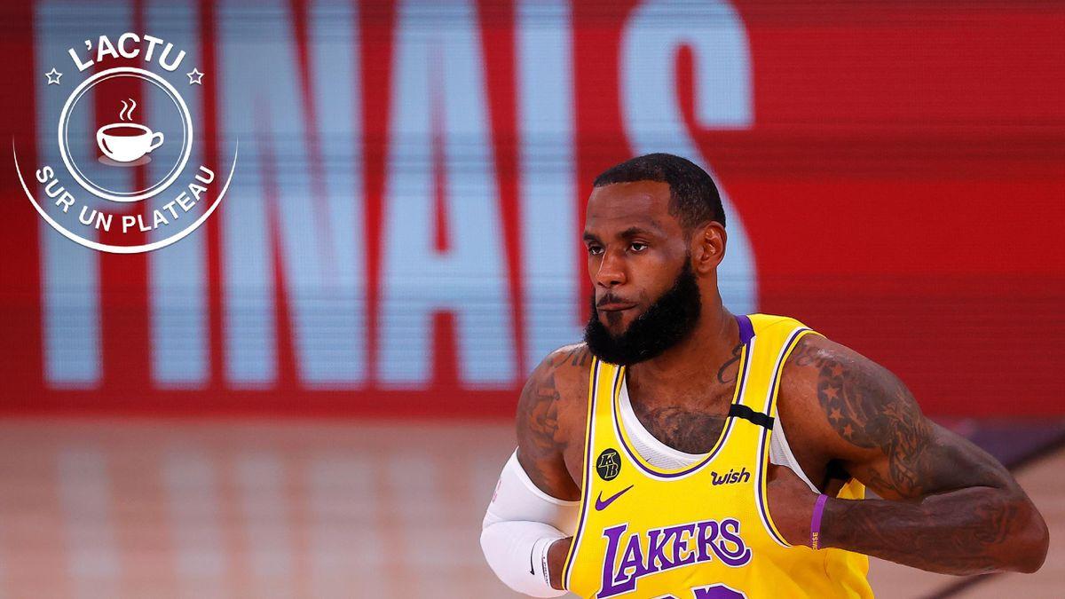 LeBron James pour le plateau