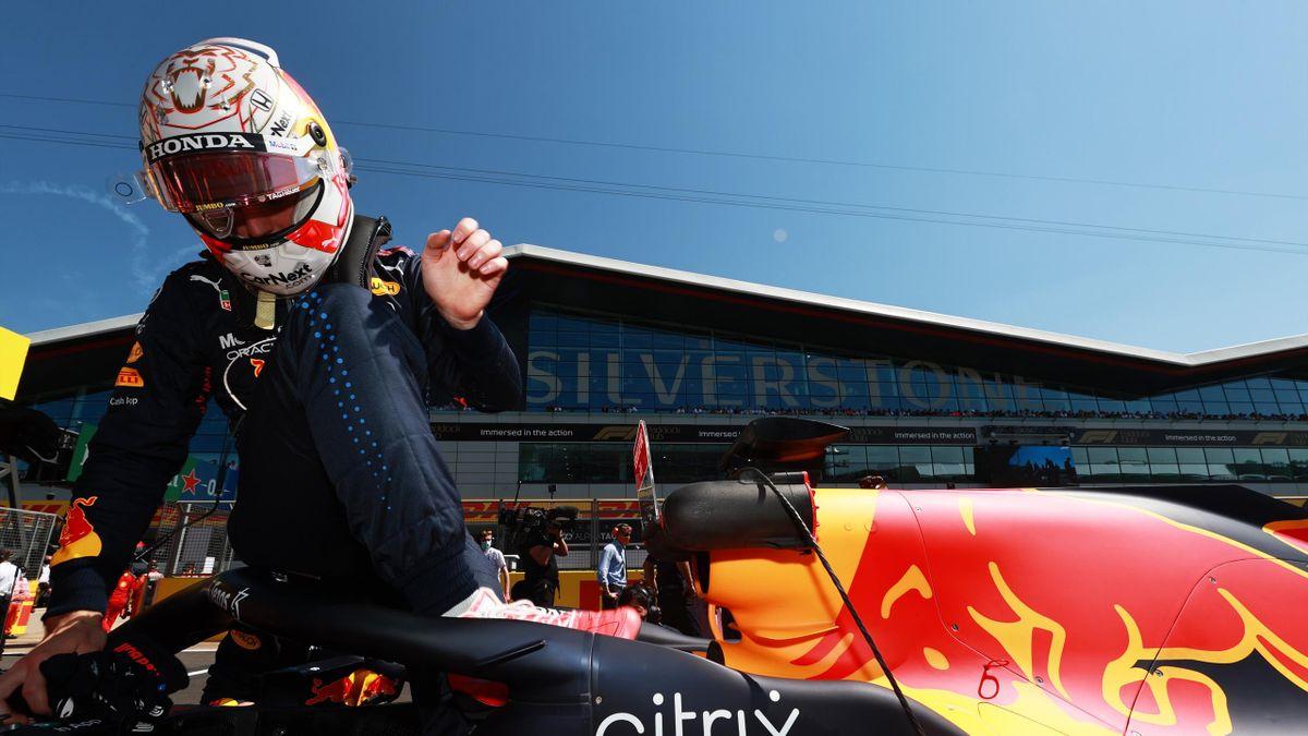 Max Verstappen (Red Bull) au Grand Prix de Grande-Bretagne, le 18 juillet 2021