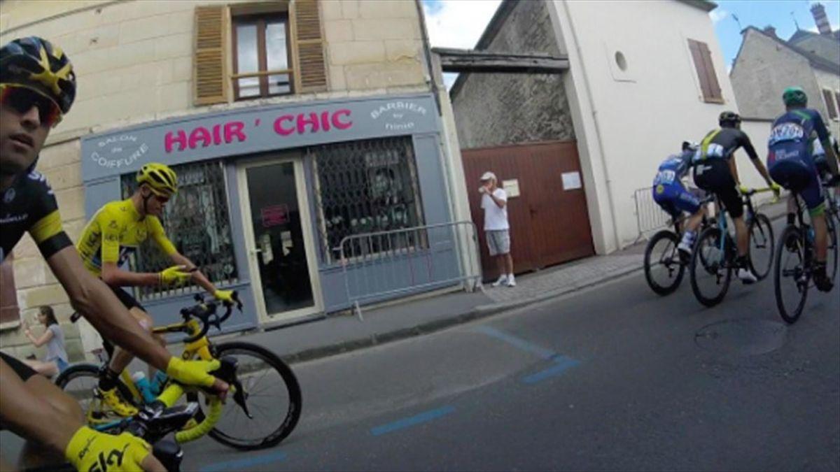 Chris Froome, Tour de France 2016 (twitter)