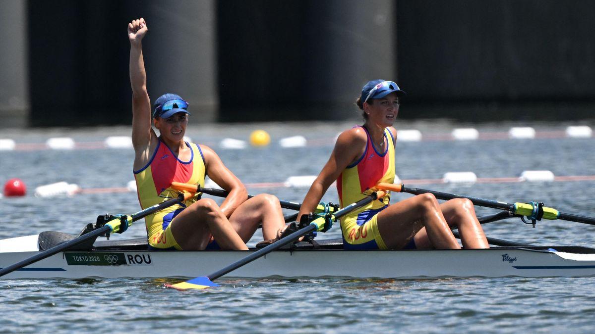 Simona Radiș și Ancuța Bodnar la Jocurile Olimpice