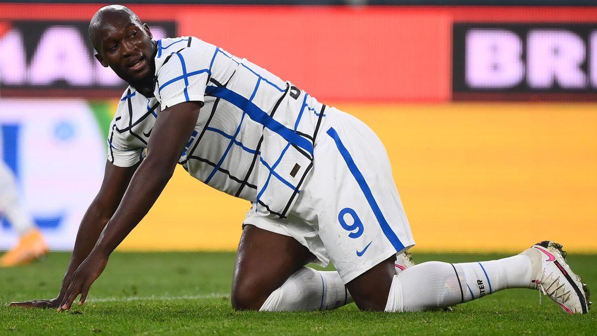 L'espressione di Romelu Lukaku, Genoa-Inter, Getty Images