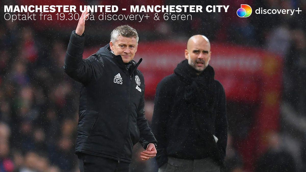 United jagter første finale under Solskjær: Manchester-derby på discovery+