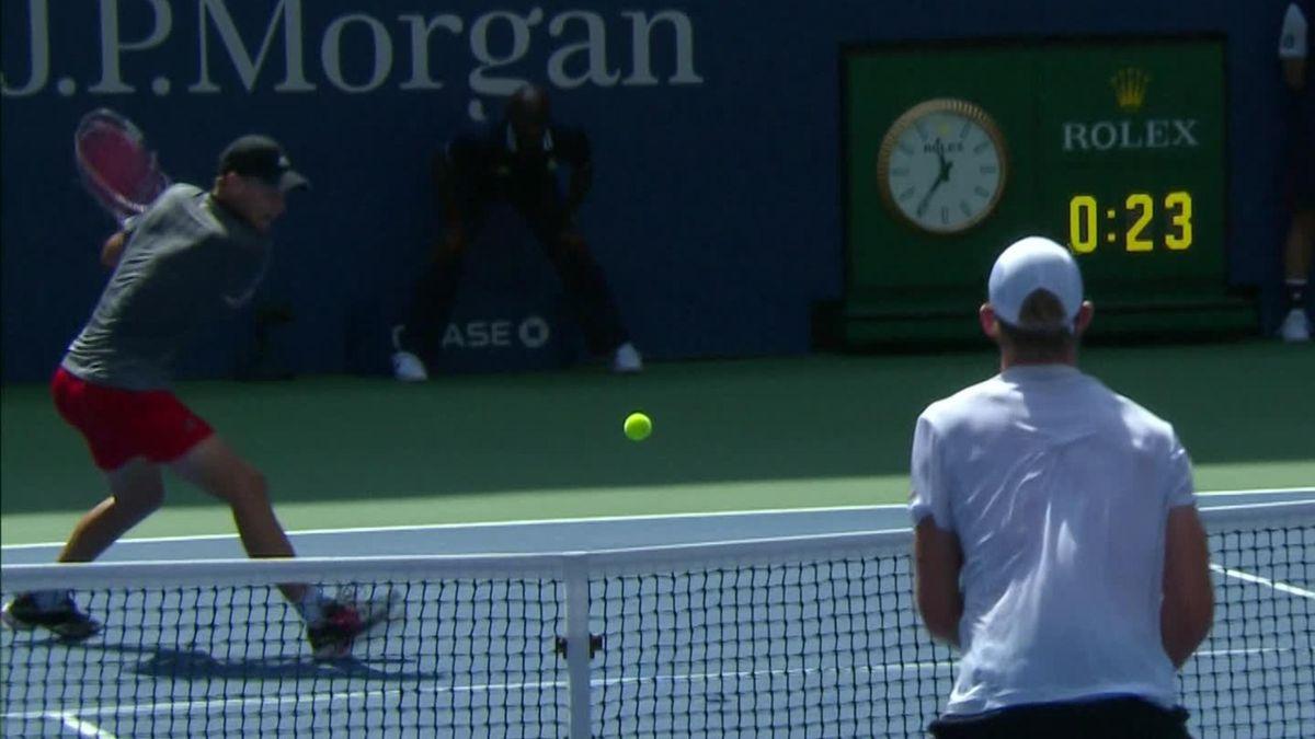 US Open - Day 7 - Thiem vs Anderson