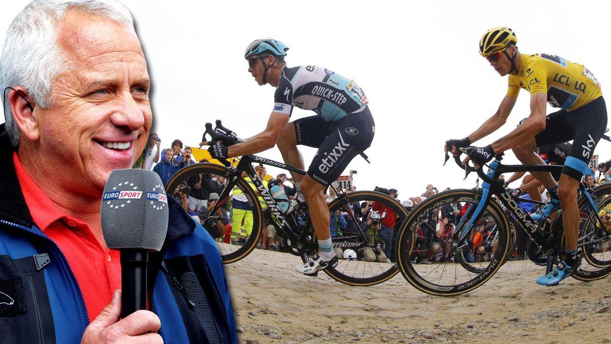 Eurosport-Experte Greg Lemond analysiert die Tour de France