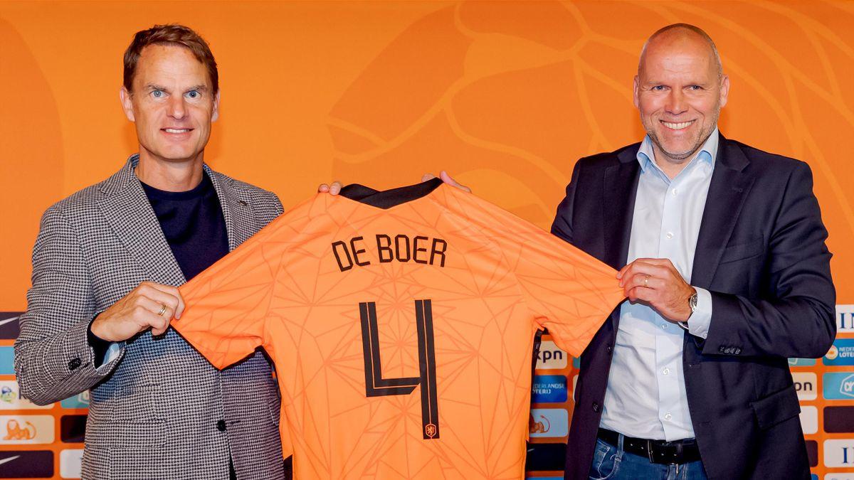Frank de Boer y Nico Jan Hoogma (Holanda)