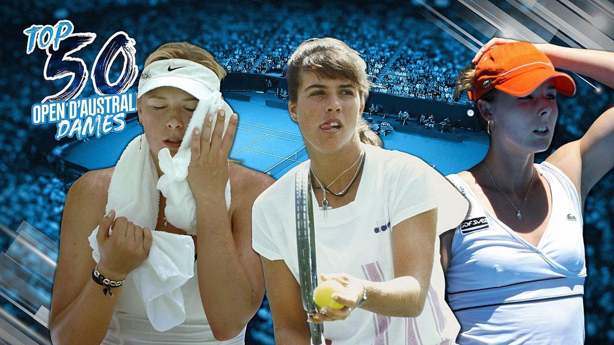 Le Top 50 de l'Open d'Australie (Dames)