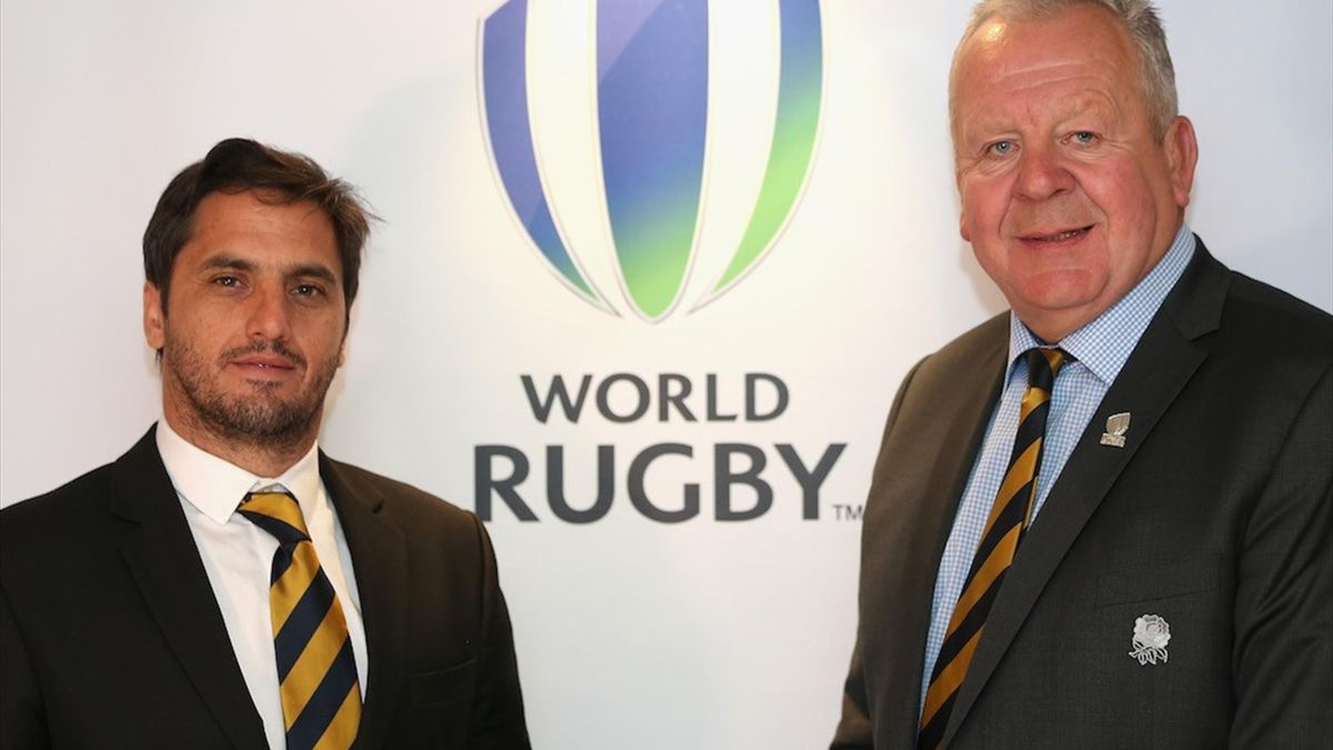 Agustín Pichot and Bill Beaumont