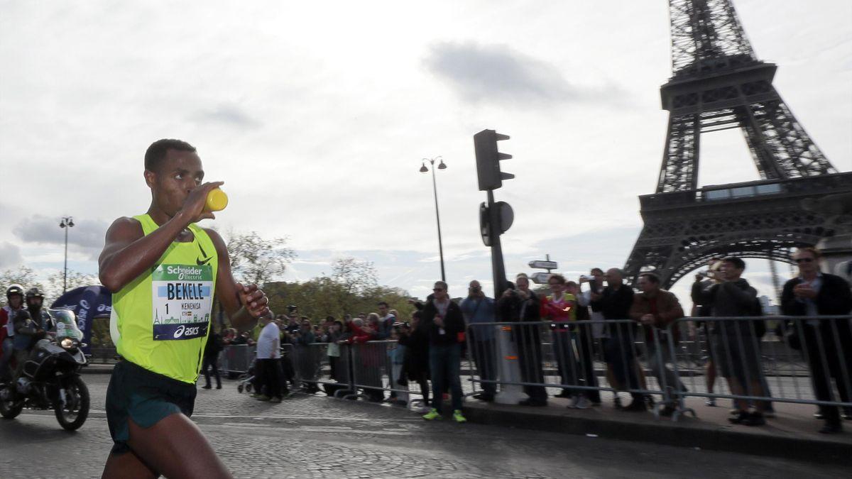 2014 Marathon de Paris Bekele