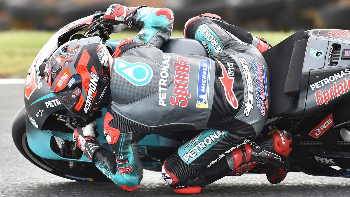 Fabio Quartararo (Yamaha Petronas SRT) lors du Grand Prix d'Australie 2019