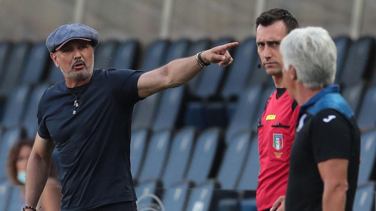 Sinisa Mihajlovic, Gian Piero Gasperini - Atalanta-Bologna - Serie A 2019/2020 - Getty Images