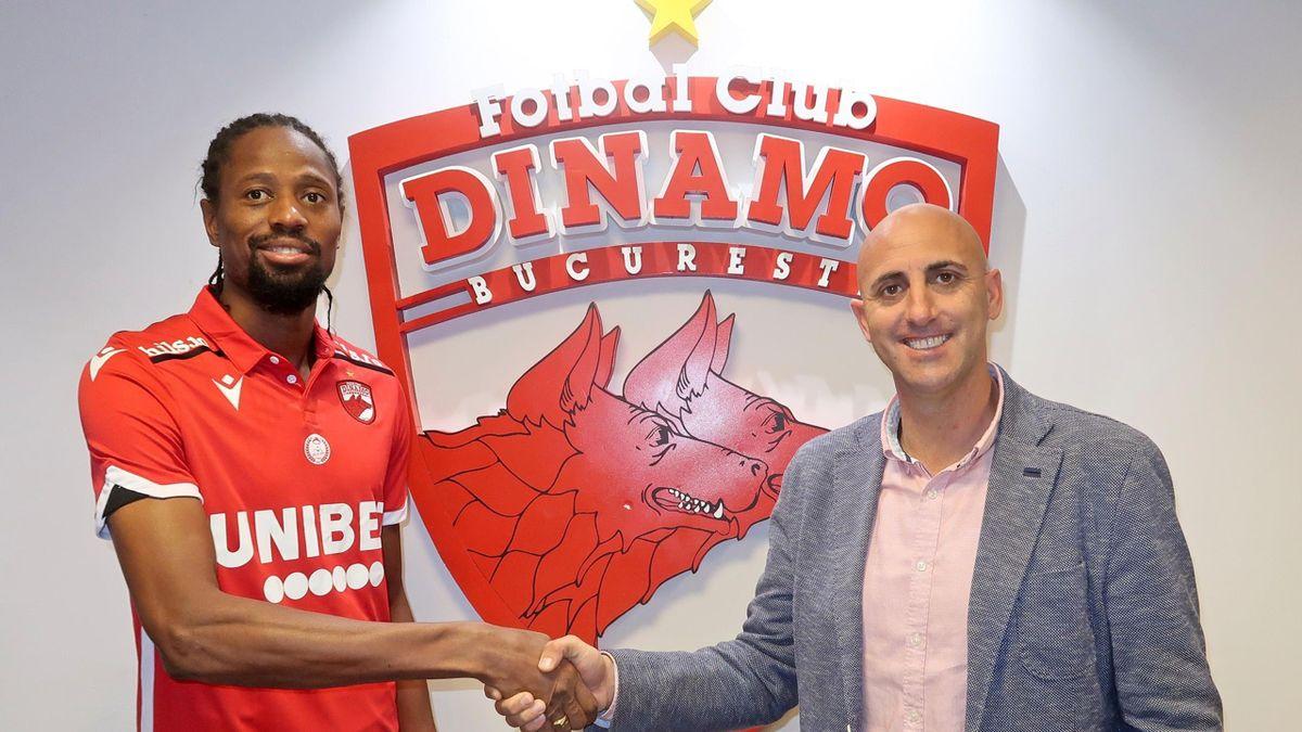 Abdoulaye Ba la Dinamo București