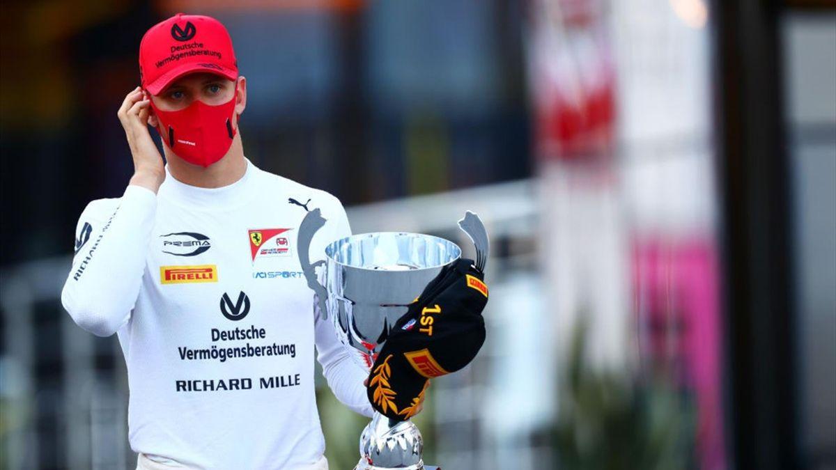 Mick Schumacher führt aktuell die Gesamtwertung in der Formel 2 an
