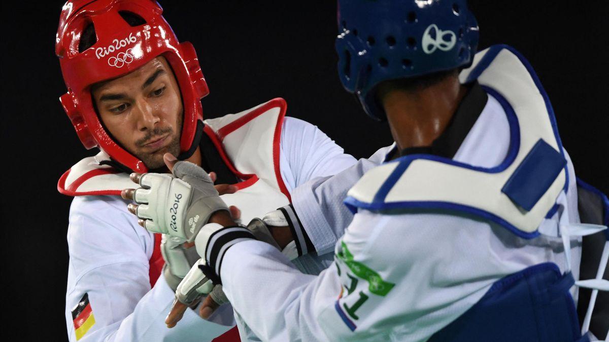 Tahir Gülec (l) verpasste seine Olympia-Qualifikation