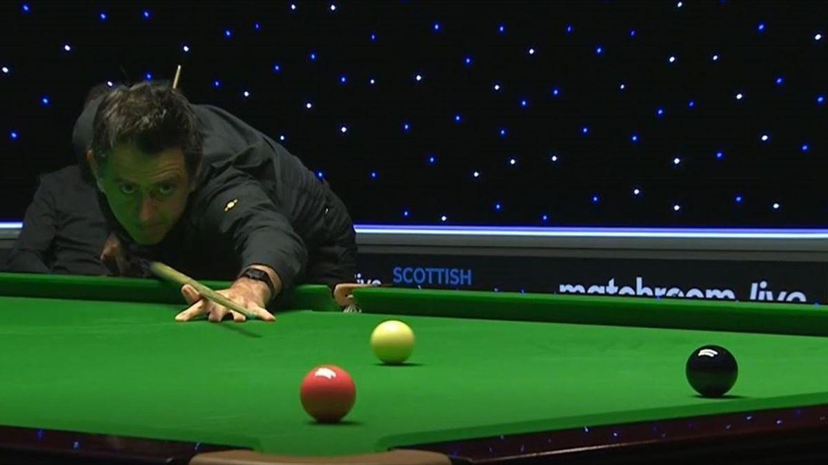 Ronnie O'Sullivan im Finale bei den Scottish Open