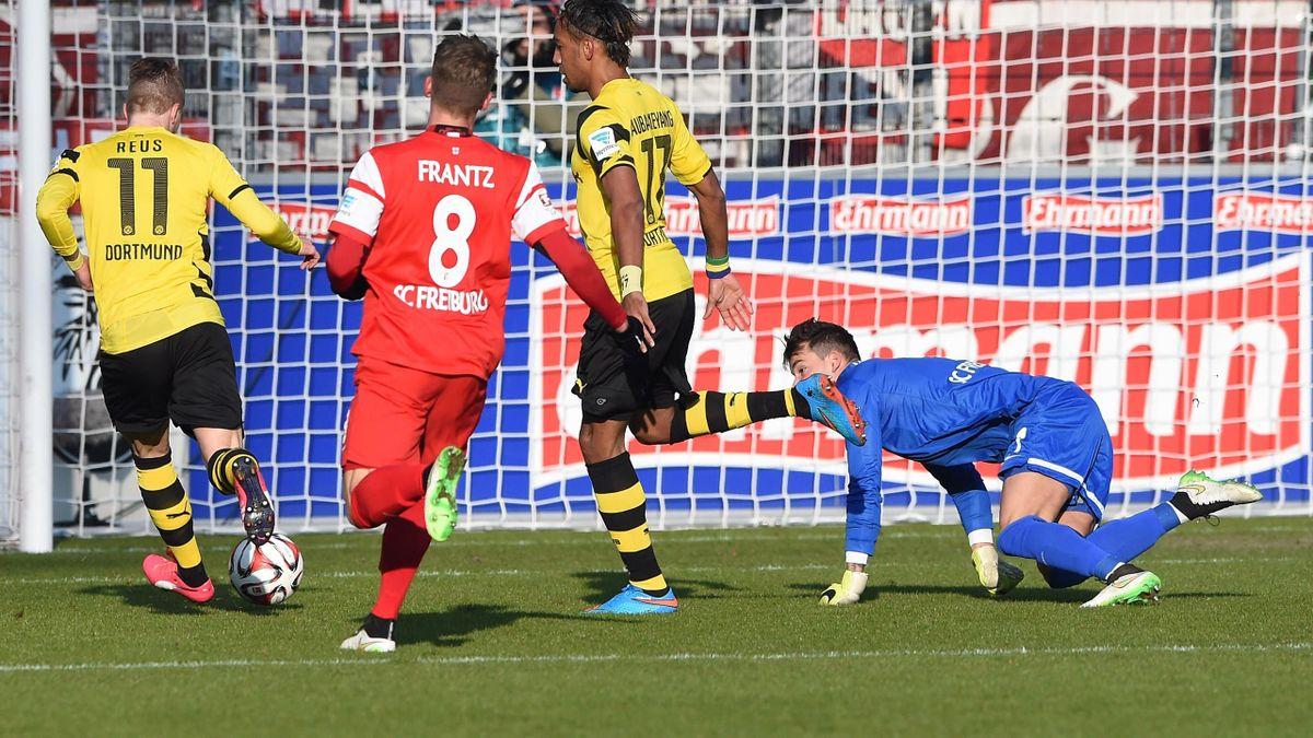 Borussia Dortmund gegen den SC Freiburg
