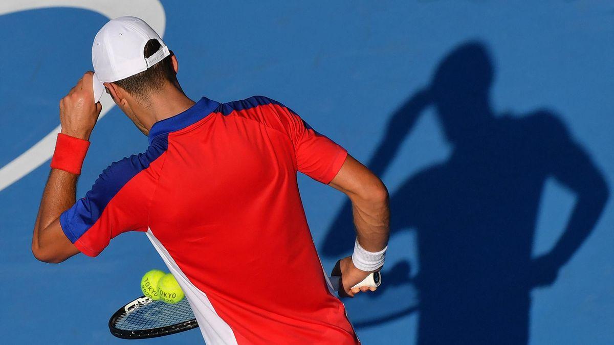Novak Djokovic à Tokyo