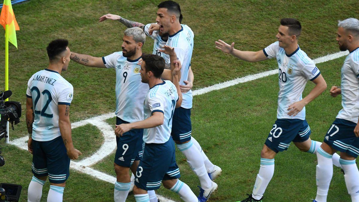 Lautaro Martinez Qatar Argentina Copa America