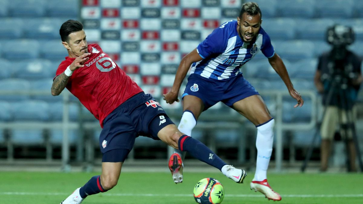 José Fonte, le capitaine du LOSC, ici face à Porto en amical.