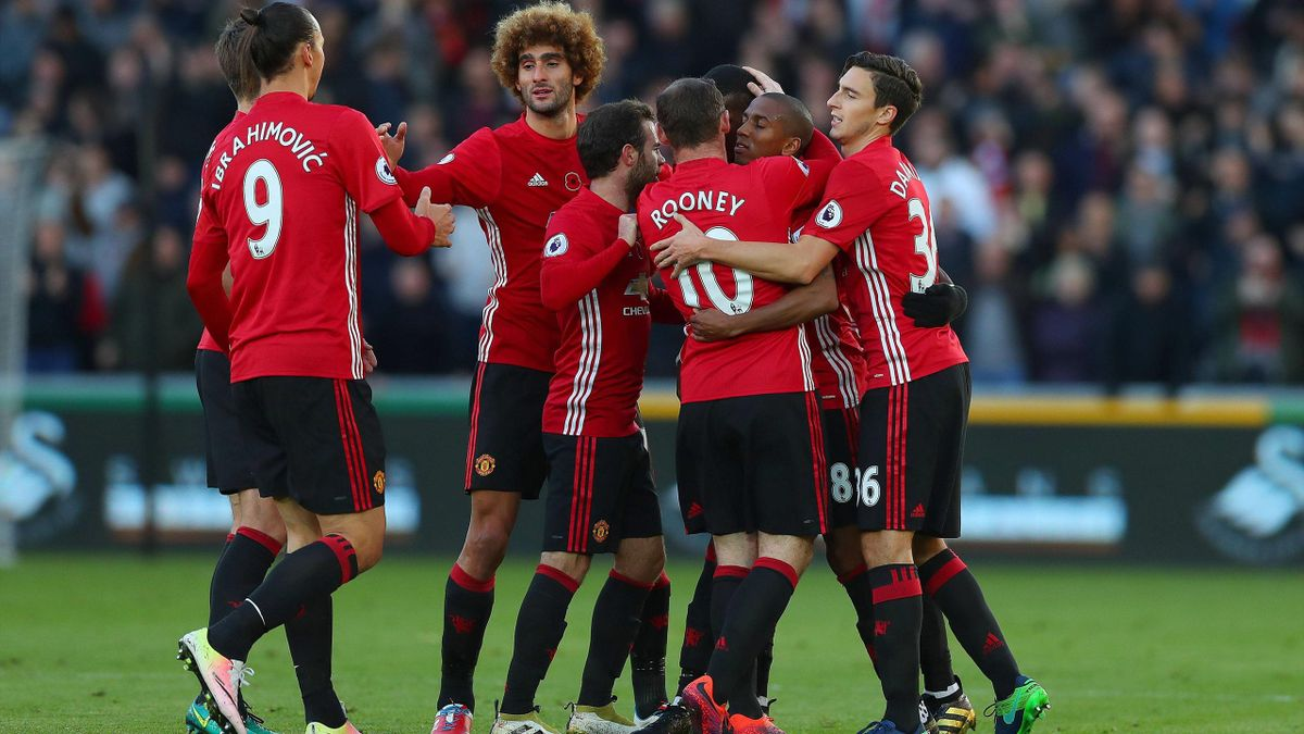 Ibrahimovic Pogba - Swansea City-Manchester United - Premier League 2016/2017 - Imago PUB NOT IN FRAxUKxNEDxESPxSWExPOLxCHNxJPN